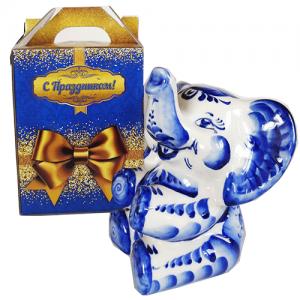 Радость (чай 50 г + копилка в виде большого слона)